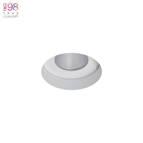 Image of Eiger 1-R Round IP65 Fixed Plaster In LED Downlight