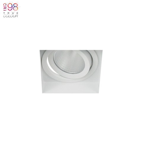 Image of Eiger 1-S Square Adjustable Plaster In LED Downlight
