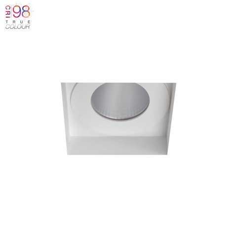 Image of Eiger 1-S Square IP65 Fixed Plaster In LED Downlight