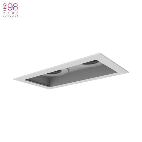 Image of Eiger 2 Twin IP65 Fixed LED Downlight