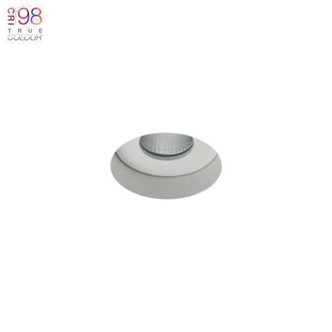 Image of Eiger Mini 1-R Round IP65 Fixed Plaster In LED Downlight