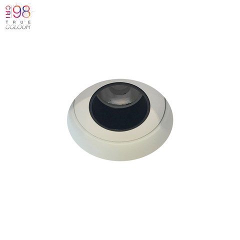 Image of Andes 1-R Round Fixed Plaster In LED Downlight