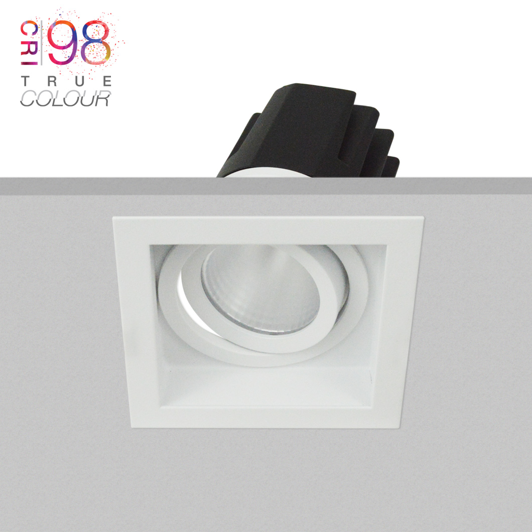 Eiger 1-S Square Adjustable LED Downlight Image number 2