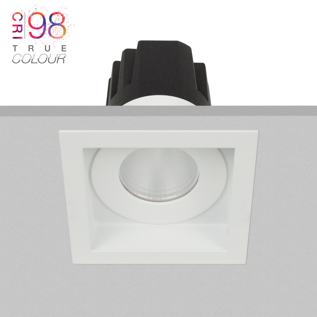 Eiger 1-S Square IP65 Fixed LED Downlight Image number 2
