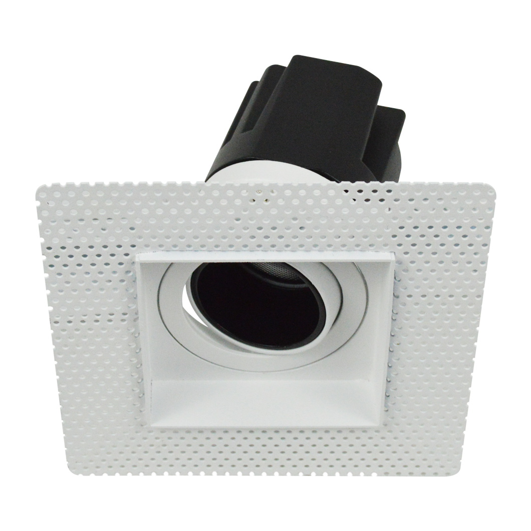 Andes 1-S Square Adjustable Plaster In LED Downlight Image number 3
