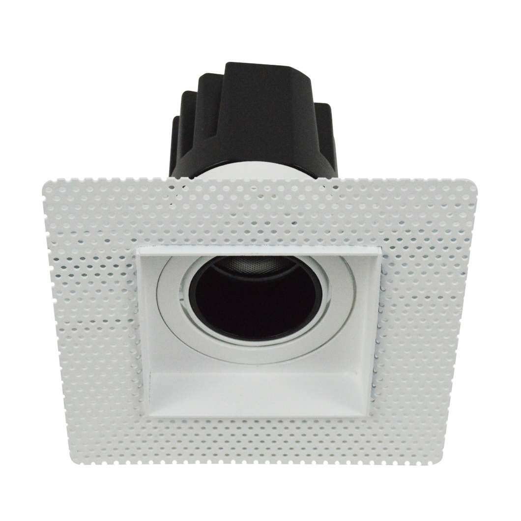 Andes 1-S Square Adjustable Plaster In LED Downlight Image number 4