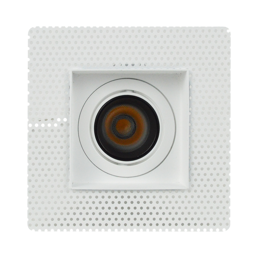 Andes 1-S Square Adjustable Plaster In LED Downlight Image number 5