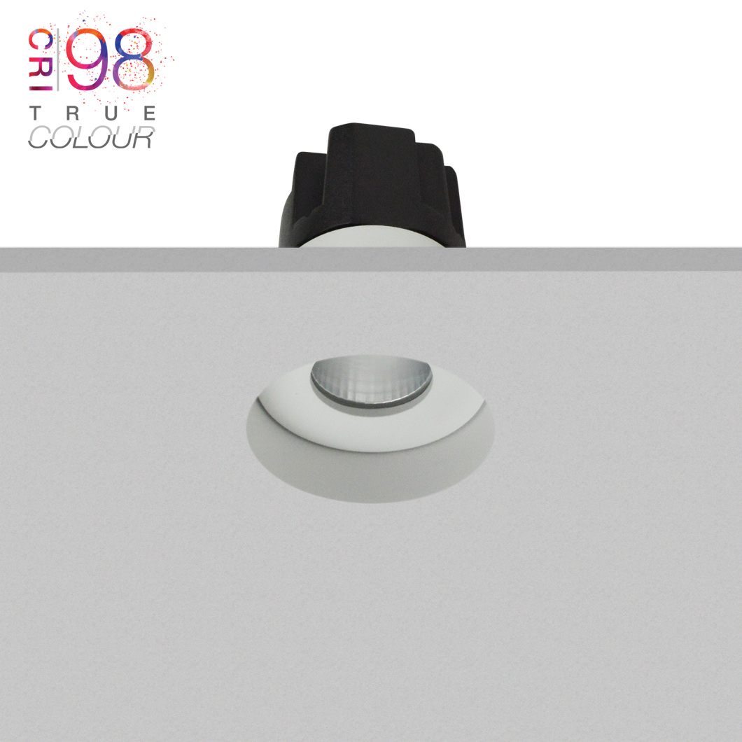 Eiger Mini 1-R Round IP65 Fixed Plaster In LED Downlight Image number 3