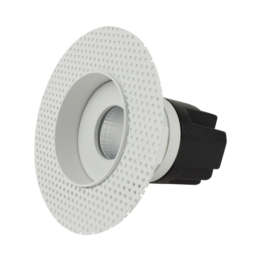 Eiger Mini 1-R Round IP65 Fixed Plaster In LED Downlight Image number 4