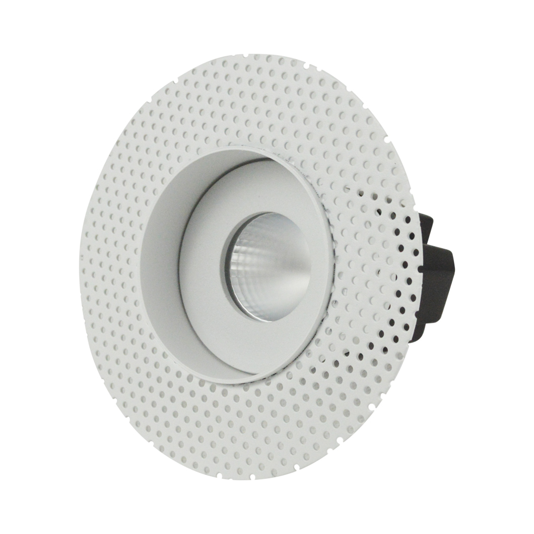 Eiger Mini 1-R Round IP65 Fixed Plaster In LED Downlight Image number 5