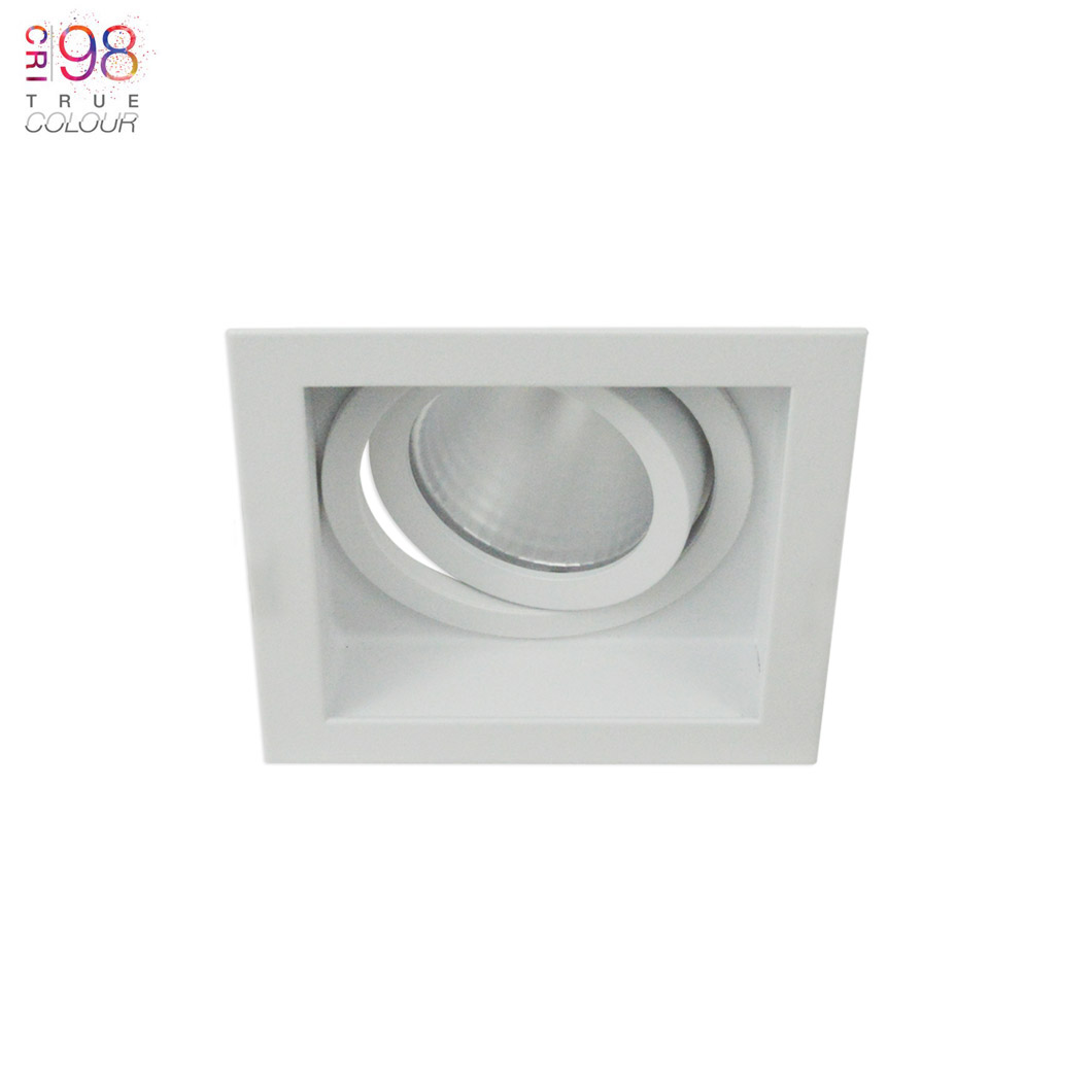 Eiger 1-S Square Adjustable LED Downlight Image number 1