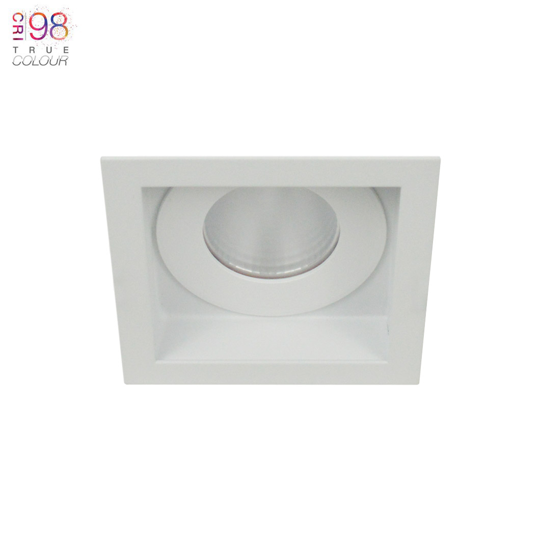 Eiger 1-S Square IP65 Fixed LED Downlight Image number 1