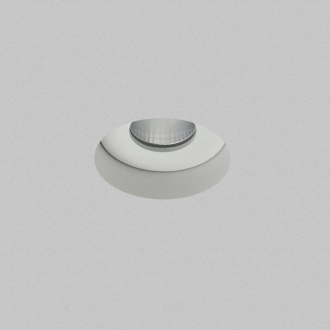 Eiger Mini 1-R Round IP65 Fixed Plaster In LED Downlight Image number 2