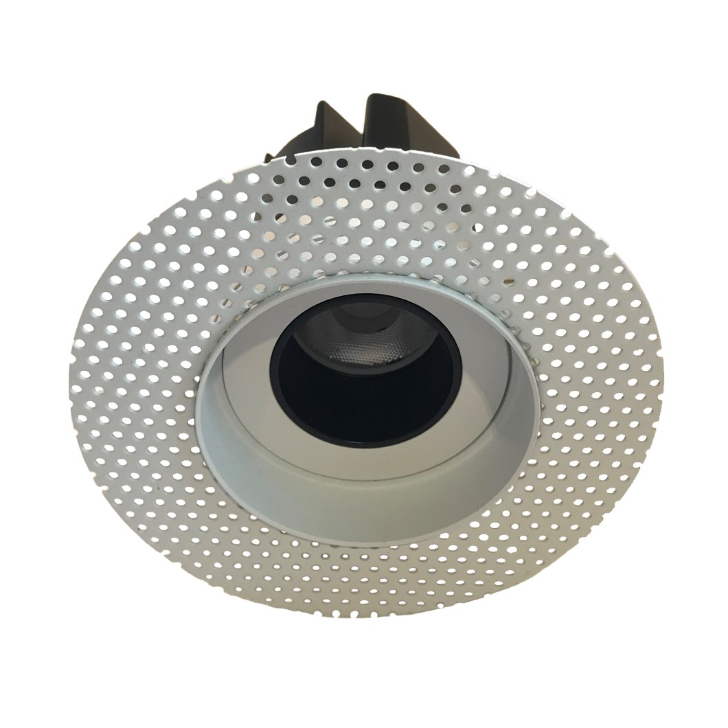 Andes 1-R Round Fixed Plaster In LED Downlight Image number 2