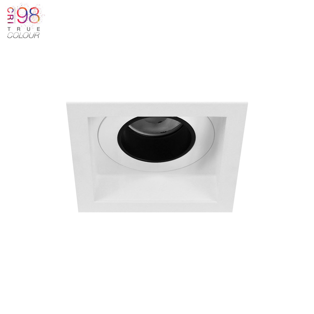 Andes 1-S Square Fixed LED Downlight Image number 1