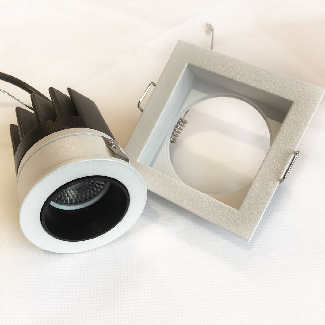Andes Mini 1-S Square IP65 Fixed LED Downlight Image number 4