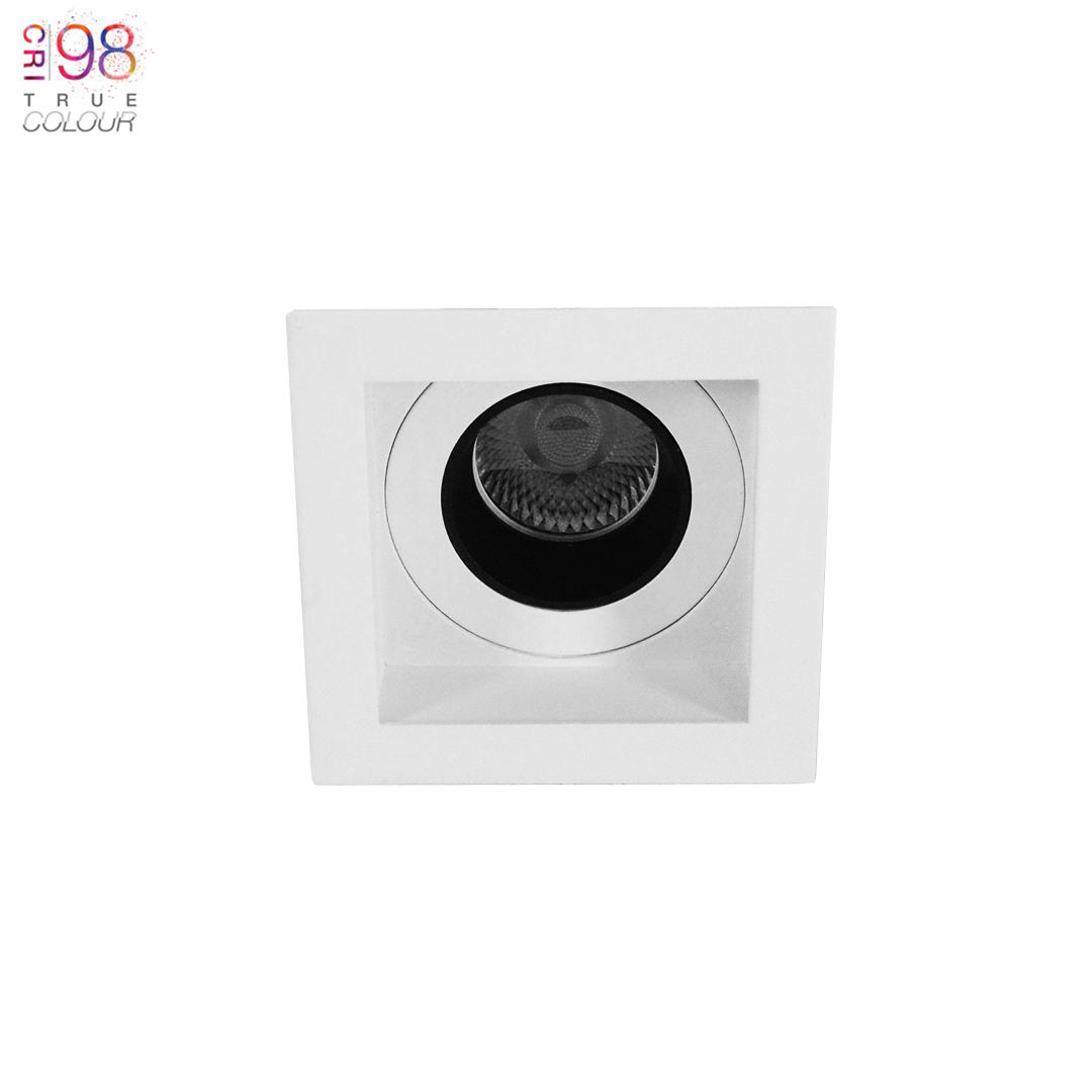 Andes Mini 1-S Square IP65 Fixed LED Downlight Image number 3